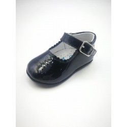 Mercedita patent leather with buckle