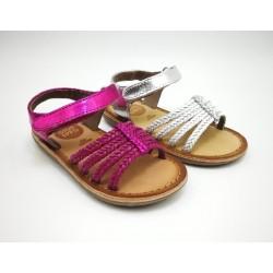 sandalia braided gioseppo