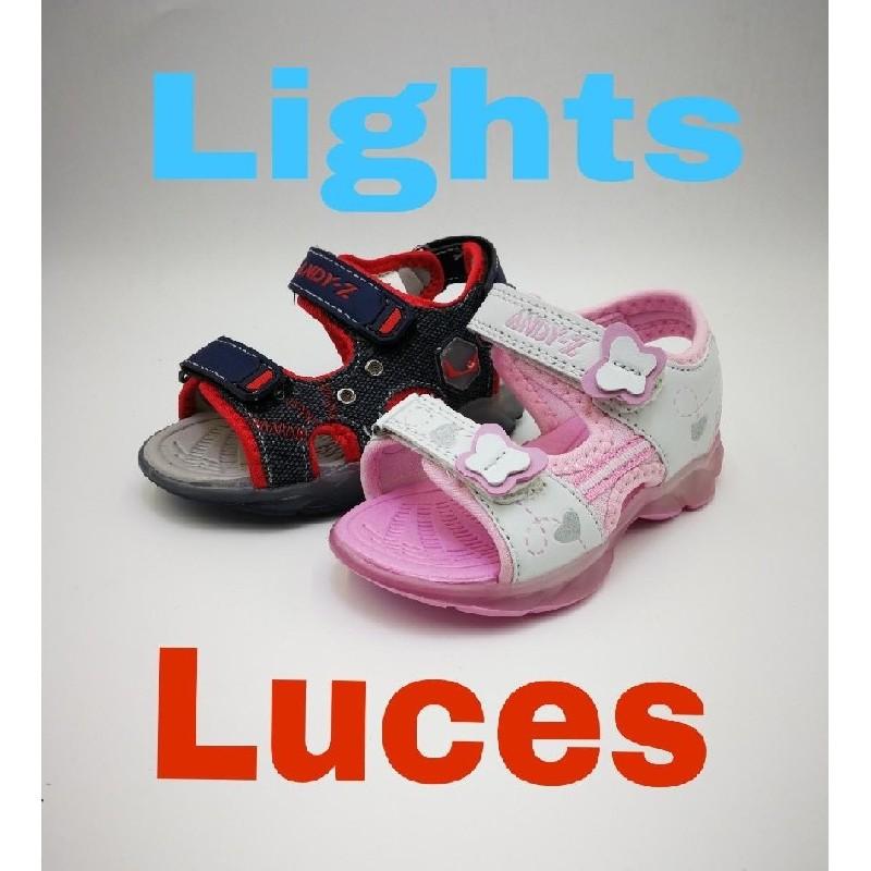Sandalia Luces De Shoes Kids Andy Z Tutu dexBorC