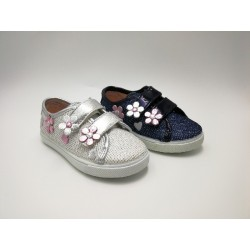 sporty glitter with flowers