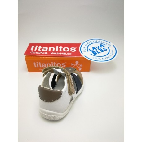 Washable sandal Amador titanitos