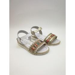 Ethnic jute sandal