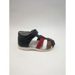 Velcro heel sandal
