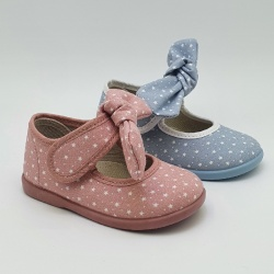 Mary Janes with stars with bow